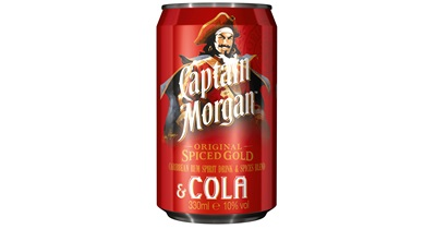 Captain Morgan - Rum-Cola