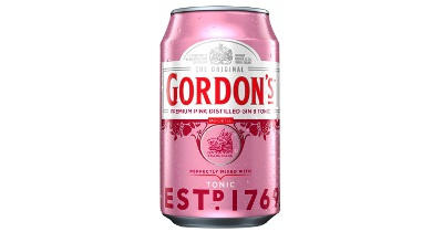 Gordons Premium Pink Distilled Gin & Tonic Water