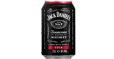 Jack Daniel's Tennessee Whiskey & Cola